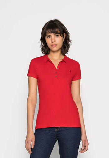 HERITAGE SHORT SLEEVE - Polo shirt - apple red