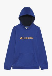Columbia - BASIC LOGO YOUTH HOODIE - Mikina s kapucí - azul/collegiate navy - 0