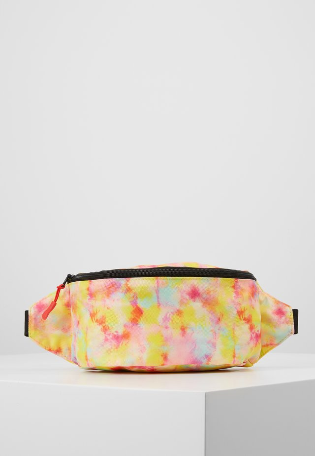 BUMBAG - Bältesväska - green yellow pink