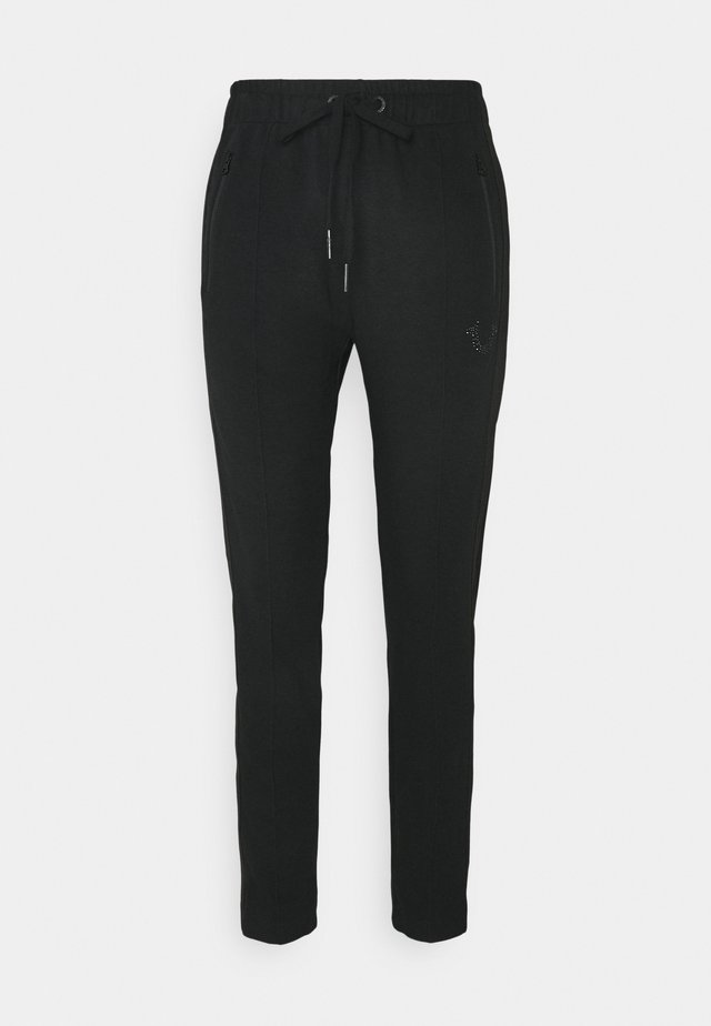 PANT TAPERED HORSESHOE - Trainingsbroek - black