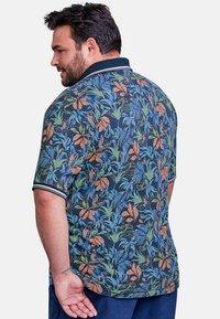 LERROS - FLOWER - Polo shirt - vintage blue - 2
