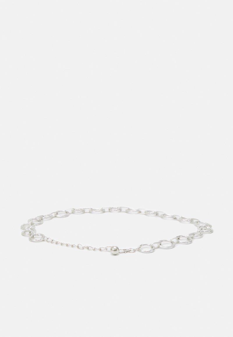 Pieces - PCEMELINE WASIT BELT - Waist belt - silver-coloured