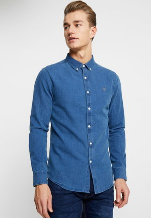 BREWER SLIM FIT - Shirt - stone wash