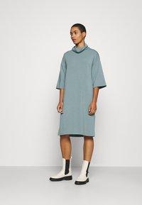 Soyaconcept - BANU - Jersey dress - ocean blue - 0