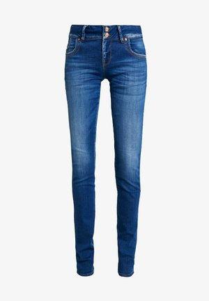 MOLLY - Vaqueros slim fit - espina wash