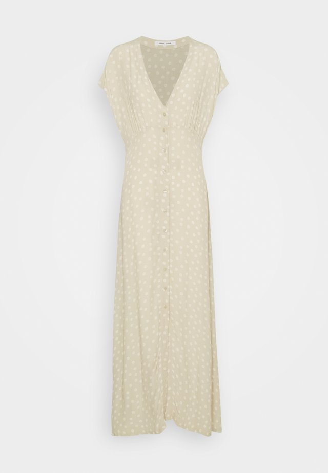 VALERIE LONG DRESS - Długa sukienka - rice