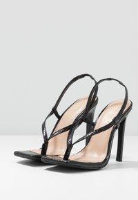 Steve Madden - BASHMENT - High heeled sandals - black - 4