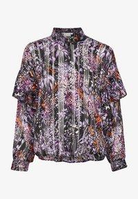 InWear - HILMA - Button-down blouse - purple flowers - 5