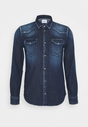 CAMICIA WESTERN BASIC - Chemise - blue denim