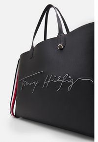Tommy Hilfiger - ICONIC TOTE SIGNATURE SET - Shopping bags - black - 4
