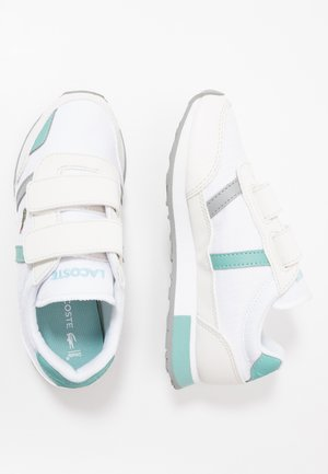 PARTNER  - Matalavartiset tennarit - white/turquoise
