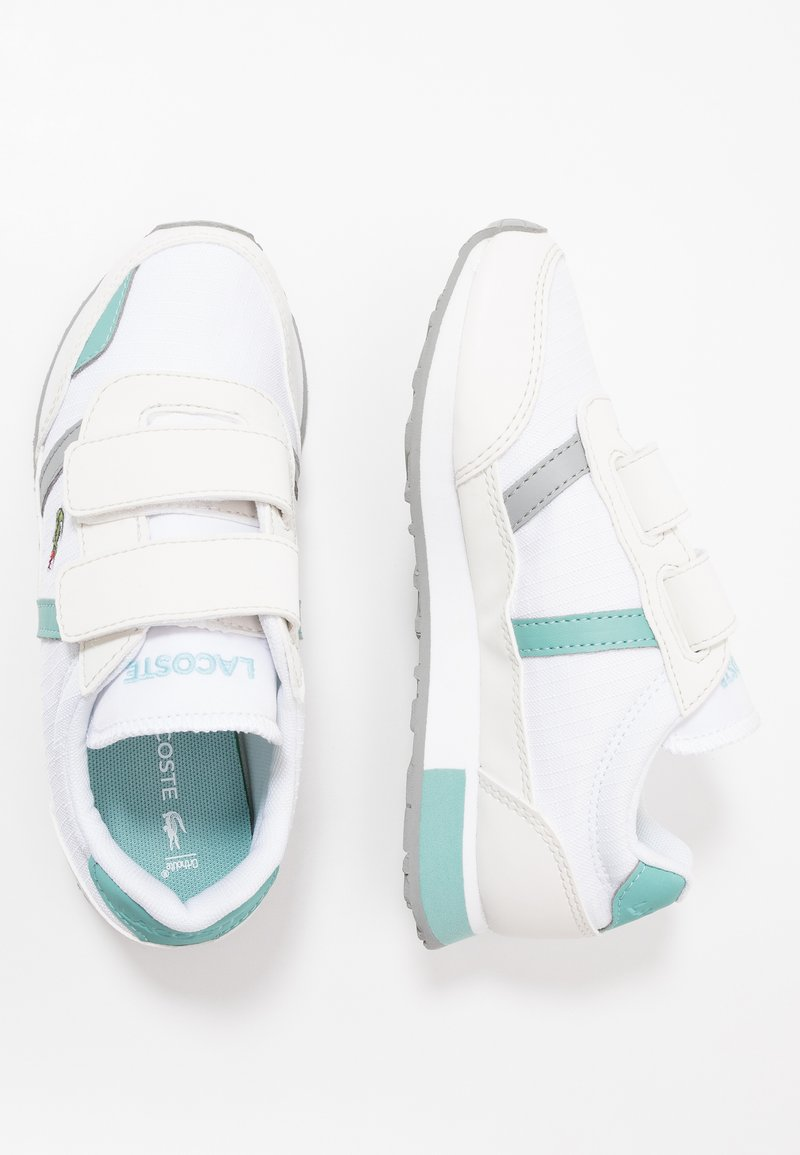 Lacoste - PARTNER  - Trainers - white/turquoise