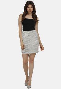 myMo at night - Mini skirt - weiss - 1