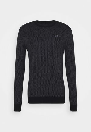 Jumper - black geo