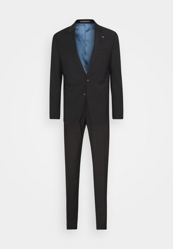 SLIM FIT SUIT - Completo - chocolate