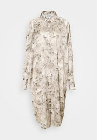 FRAM PRINT  - Shirt dress - tree fossil brown