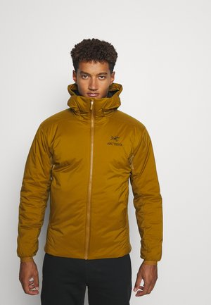 ATOM HOODY MEN'S - Outdoor jacket - mustard yellow