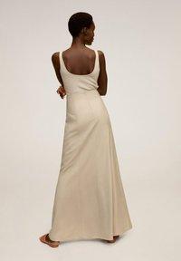 Mango - TINTO-A - Maxi skirt - beige - 2