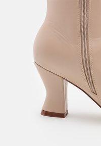 RAID Wide Fit - WIDE FIT JACEY - Vysoká obuv - nude - 5