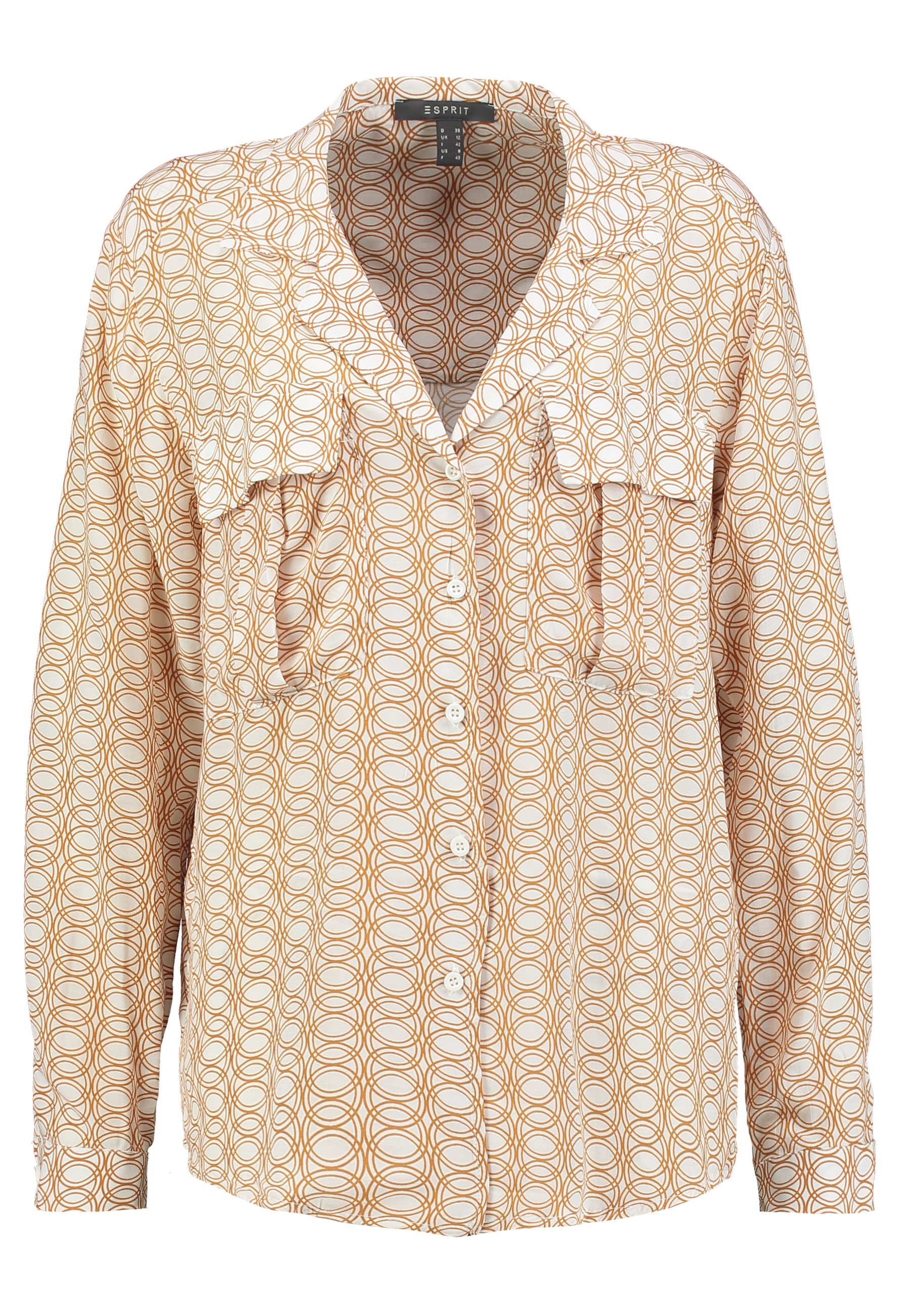 Esprit Collection LAPEL - Skjorte - off white