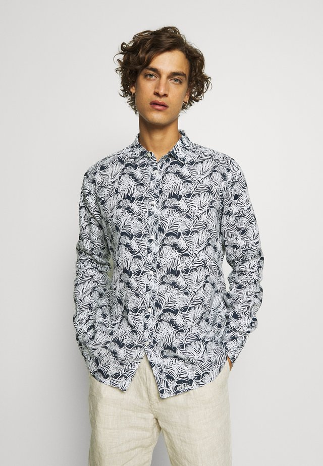 LARCH PALM SHIRT - Camisa - total eclipse