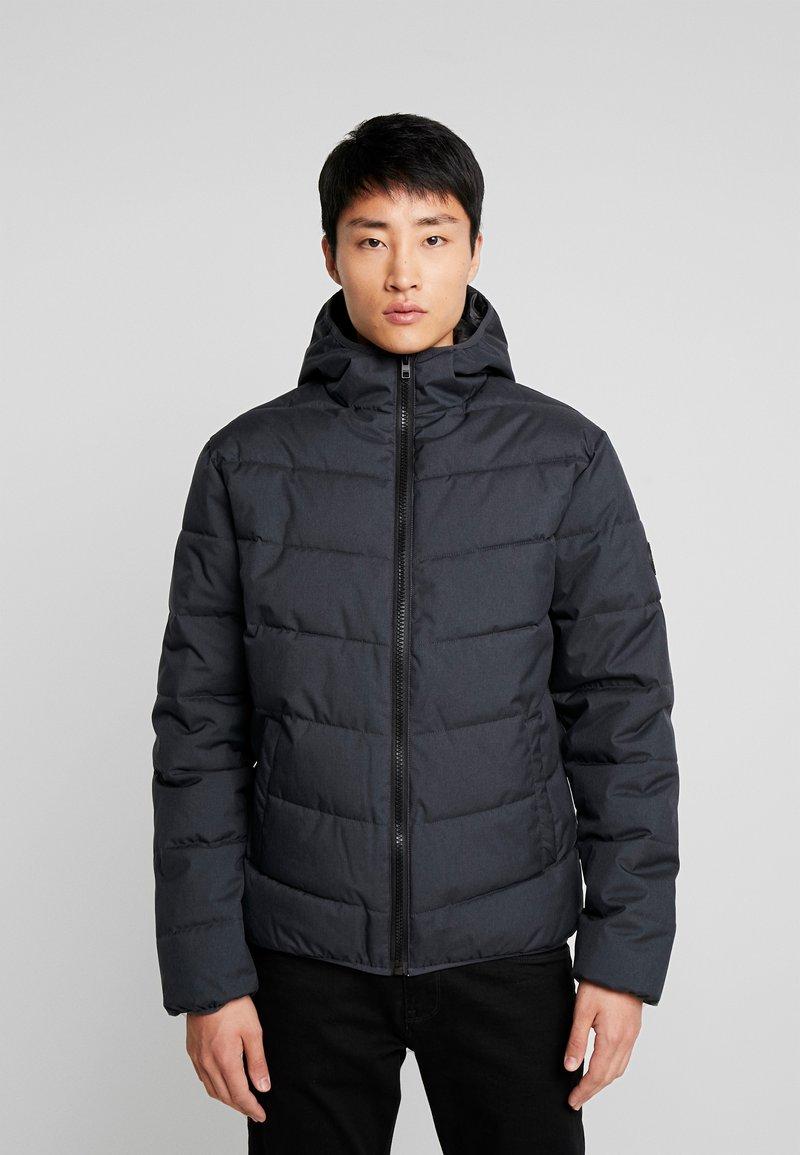 Solid - RIDER - Light jacket - black melange