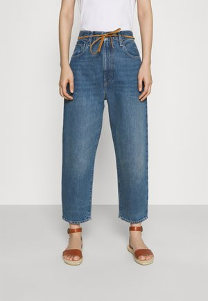 BARREL - Jeans baggy - lmc provincial blue