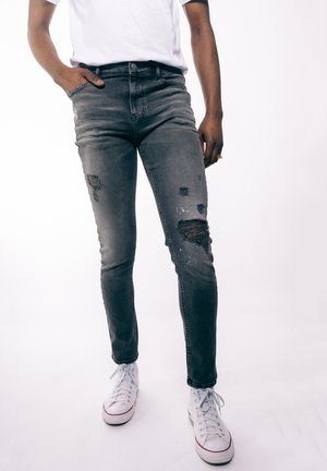 Slim fit jeans - greydenim