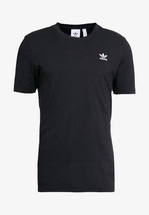 ESSENTIAL TEE UNISEX - T-shirt - bas - black
