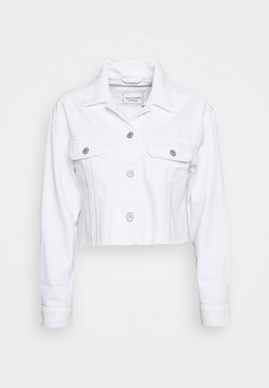 CUTOFF - Denim jacket - white