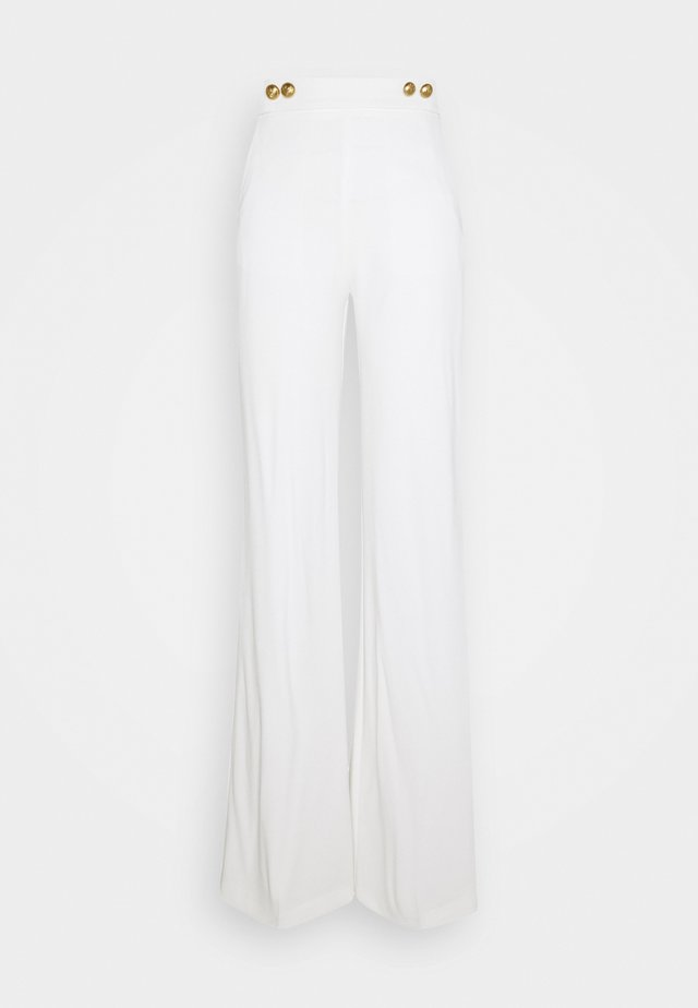 SBOZZARE TROUSERS - Broek - white