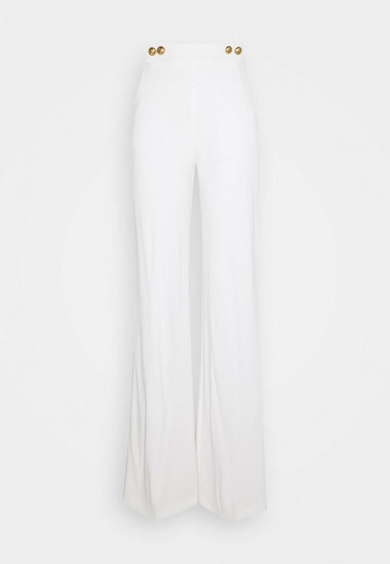 Pinko - SBOZZARE TROUSERS - Trousers - white