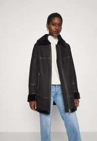 Freaky Nation - ARCTIC VILLAGE - Cappotto invernale - black - 0