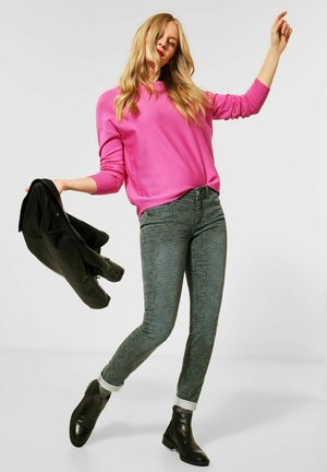 MIT COOLEM DESSIN - Slim fit jeans - grün