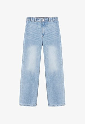 HONEY - Jeans Relaxed Fit - middenblauw