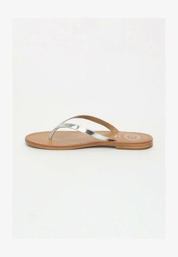 BOAVISTA  - T-bar sandals - silver