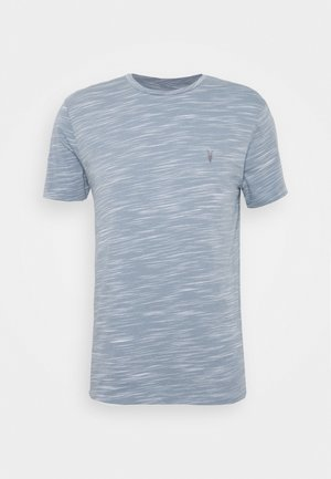 OWEN CREW - Print T-shirt - enamel blue