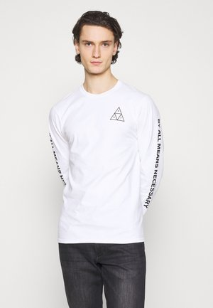 ESSENTIALS TEE - Long sleeved top - white