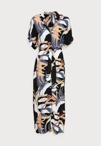 mine to five TOM TAILOR - DRESS KAFTAN MAXI PRINTED - Maxi dress - sand blue palms design - 4