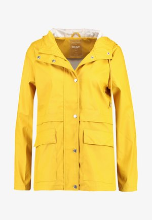 ONLTRAIN RAINCOAT - Regnjacka - yolk yellow