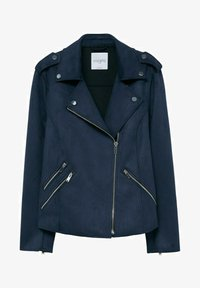 Violeta by Mango - SEUL8 - Faux leather jacket - bleu marine - 4