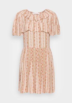 Kokteilinė suknelė / vakarėlių suknelė - multicolor pink
