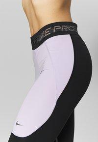 Nike Performance - CROP - Medias - infinite lilac/black/metallic silver - 5