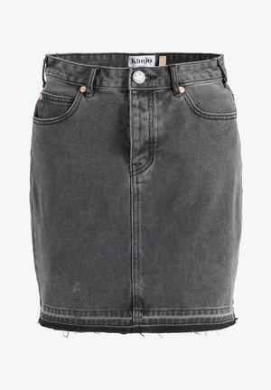 TRINITY - Pencil skirt - schwarz gewaschen