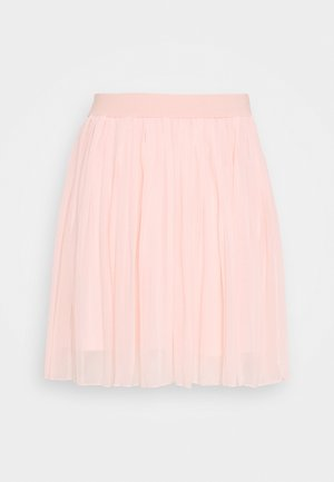 MINI PLEATED SKIRT - A-line skirt - rose quartz