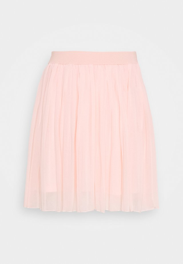 MINI PLEATED SKIRT - Jupe trapèze - rose quartz