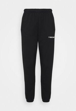DARI PANTS  - Teplákové kalhoty - black