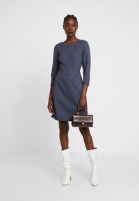 TOM TAILOR - DRESS CASUAL - Jersey dress - navy blue - 2