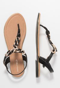 Anna Field - T-bar sandals - black - 1