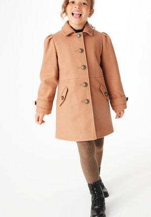 Cappotto corto - camel